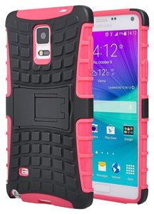 Pink - Samsung Note 3 Case - Perfect Fit - Kick Stand - Slim - Design