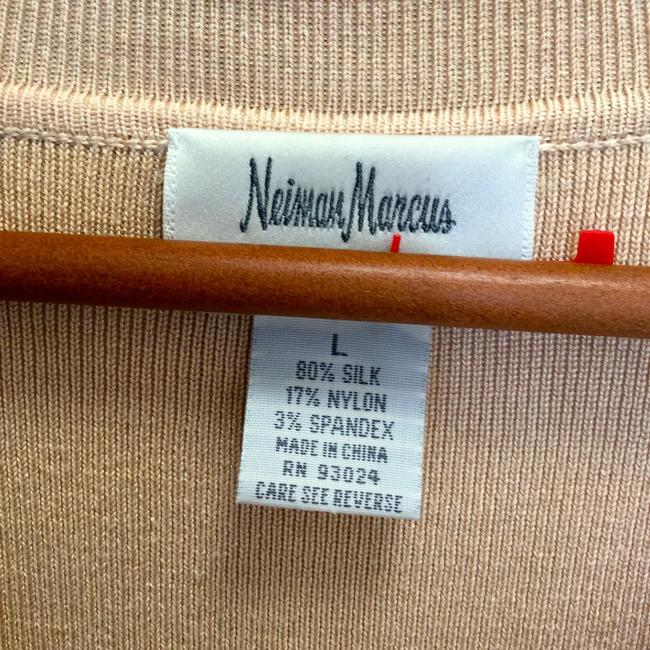 Neiman Marcus Silk Day/Night Designer Collection Exclusive Sweater Image 2