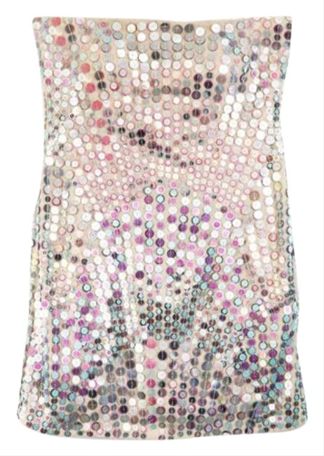 Item - Silver Pink X By Short Cocktail Dress Size 4 (S)