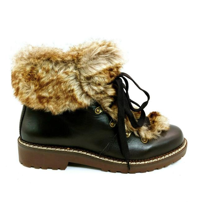 Item - Brown Womens 477938 Faux Fur Lined Cuff Dark Sable 10b Boots/Booties Size US 10 Regular (M, B)