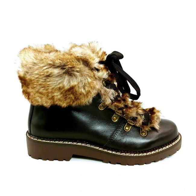 Item - Brown Womens 477938 Faux Fur Lined Cuff Dark Sable Boots/Booties Size US 7.5 Regular (M, B)