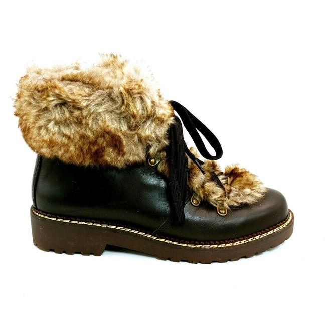Item - Brown Womens 477938 Faux Fur Lined Cuff Dark Sable 9b Boots/Booties Size US 9 Regular (M, B)