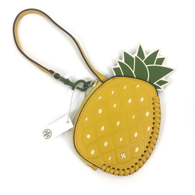 Item - Yellow New Pineapple Coin Pouch Key Fob