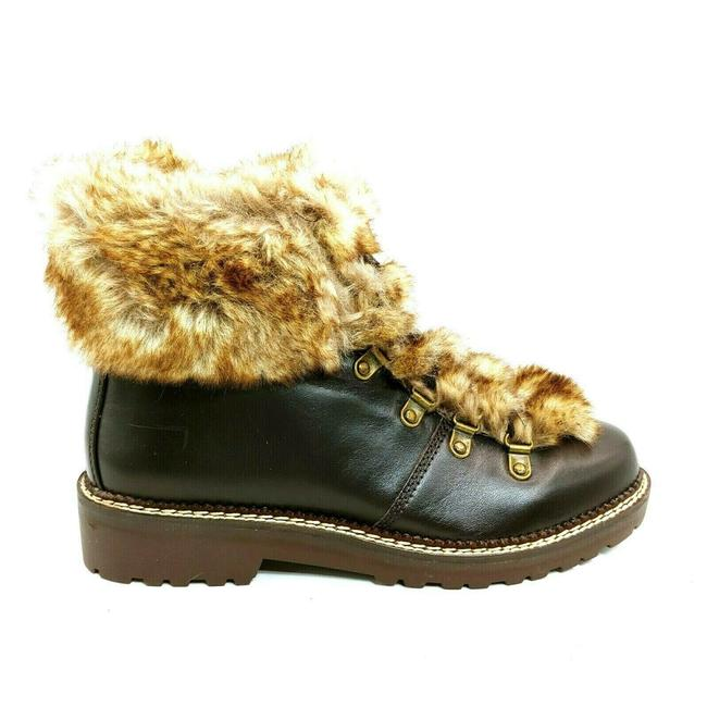 Item - Brown Womens 477938 Faux Fur Lined Cuff Dark Sable Boots/Booties Size US 8.5 Regular (M, B)