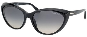 Tom Ford Tom Ford Black Full Rim Cateye Sunglasses