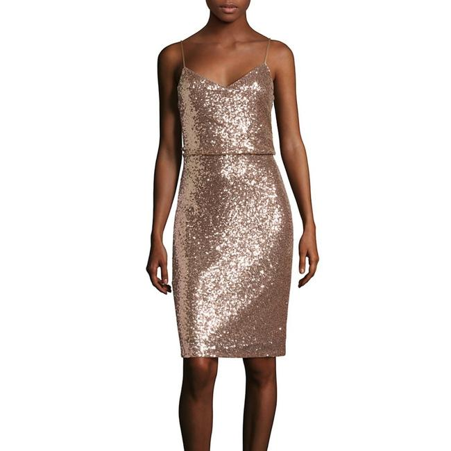 Item - Rose Gold Emery Mid-length Formal Dress Size 4 (S)