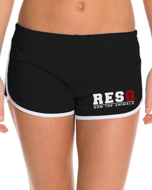 Arm The Animals New Ata Animals Rescue American Apparel Running Shorts XL