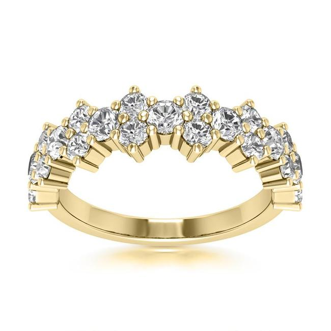 Item - 18k Yellow Gold 0.85ct Ladies Round Cut Band In Ring