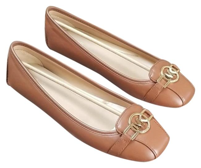 Item - Brown Tracee Leather Moccasin Flats Size US 10 Regular (M, B)