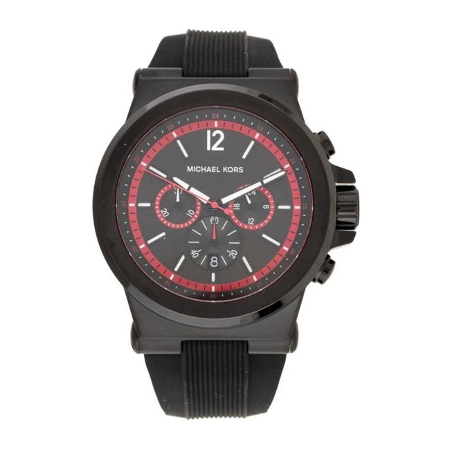 Item - Red Dylan Bk Silicone Watch