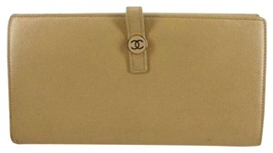 Chanel [ENTERPRISE] Button Line Classic Flap Continental Wallet CCFLM2