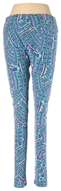 Item - Blue Tall and Curvy Leggings Size 14 (L, 34)