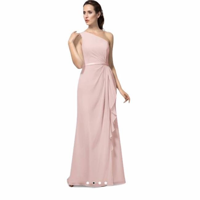 Item - Pink Bridesmaid Dusty Formal Dress Size 6 (S)