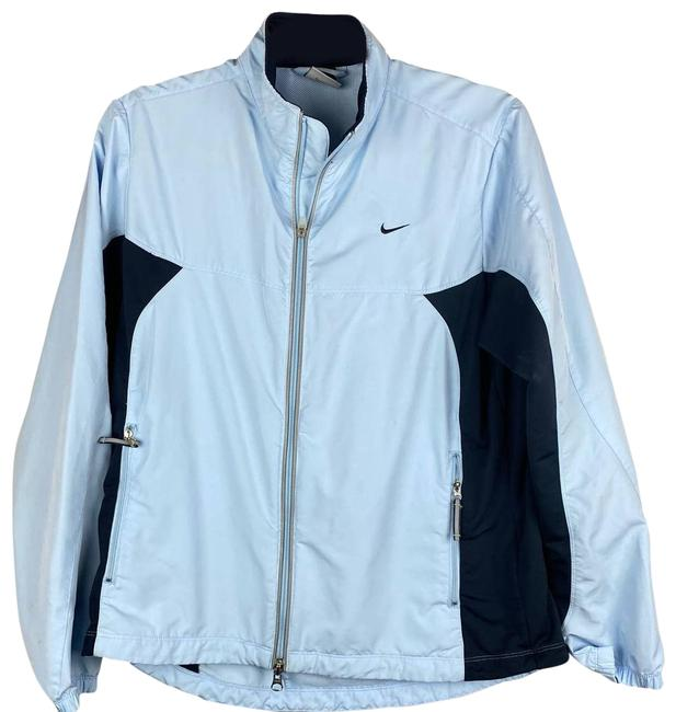 Item - Blue Dri Fit Full Zip Med Activewear Outerwear Size 10 (M)