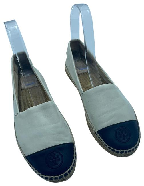 Item - White and Black Espadrille Sneakers Size US 8.5 Regular (M, B)