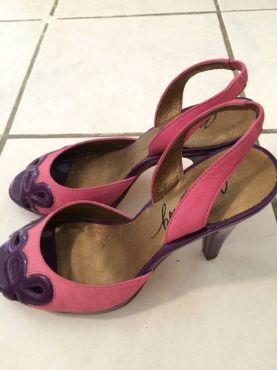 Miss Sixty Suade Sandal pink, purple Pumps