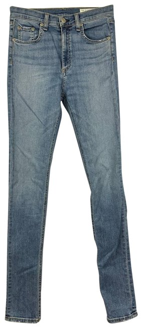 Item - Blue Light Wash In Freemont Skinny Jeans Size 27 (4, S)