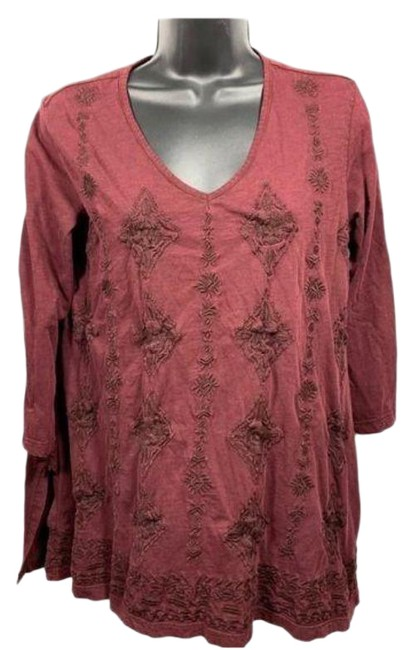 Item - Red Purple Blouse Size 4 (S)