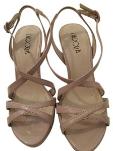 Other Pumps Strappy Nude Sandals