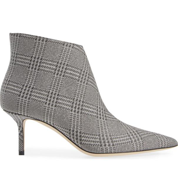 Item - Silver Marinda Pointy Toe Leather Boots/Booties Size EU 37.5 (Approx. US 7.5) Regular (M, B)