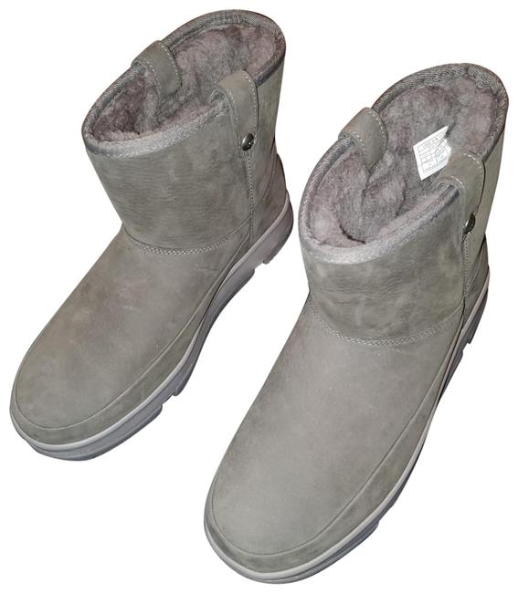 Item - Charcoal Classic Weather Mini Wrp Boots/Booties Size US 9 Regular (M, B)