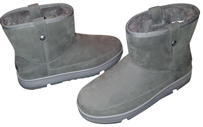 Item - Charcoal Classic Weather Mini Wrp Boots/Booties Size US 7.5 Regular (M, B)