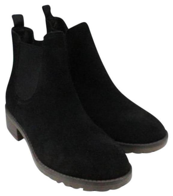 Item - Black Suede Chelsea with Grommets. Boots/Booties Size US 8 Regular (M, B)