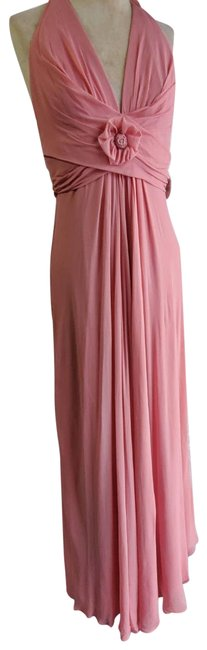 Item - Pink Gown Long Formal Dress Size 10 (M)