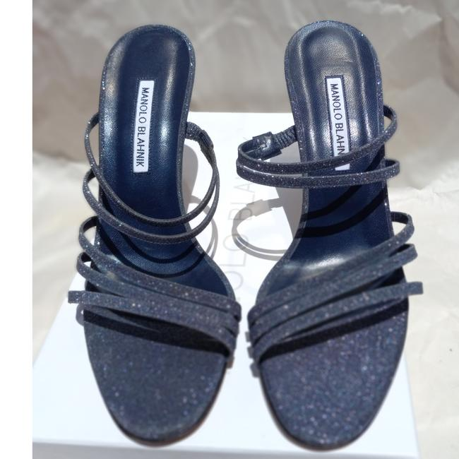 Item - Glittery Blue/Gray Andena 90 European But Runs Very Small Formal Shoes Size US 7.5 Narrow (Aa, N)