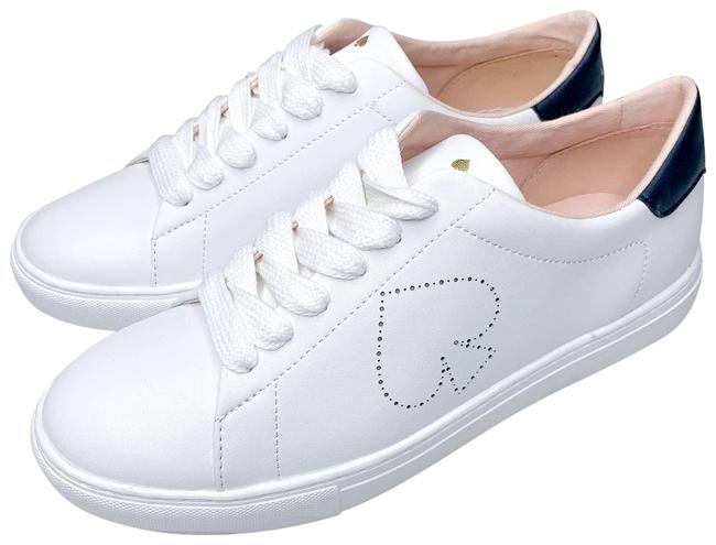 Item - White New Angelise Perforated Sneakers Flats Size US 9 Regular (M, B)
