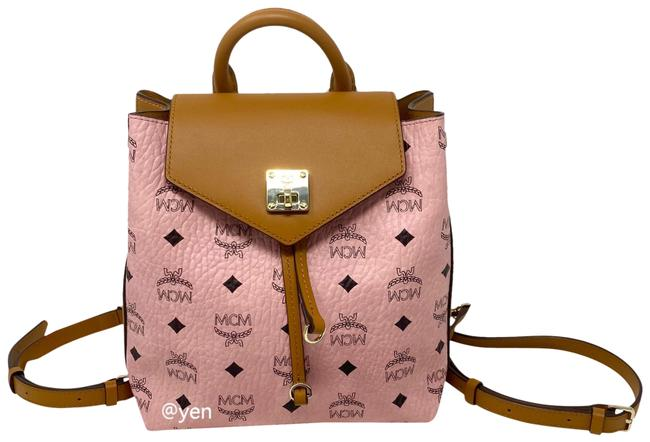 Item - Crossbody Essential / Soft Pink Leather Backpack