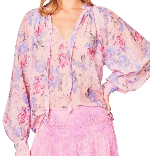 Item - Whispering Lilac Willow Blouse Size 8 (M)