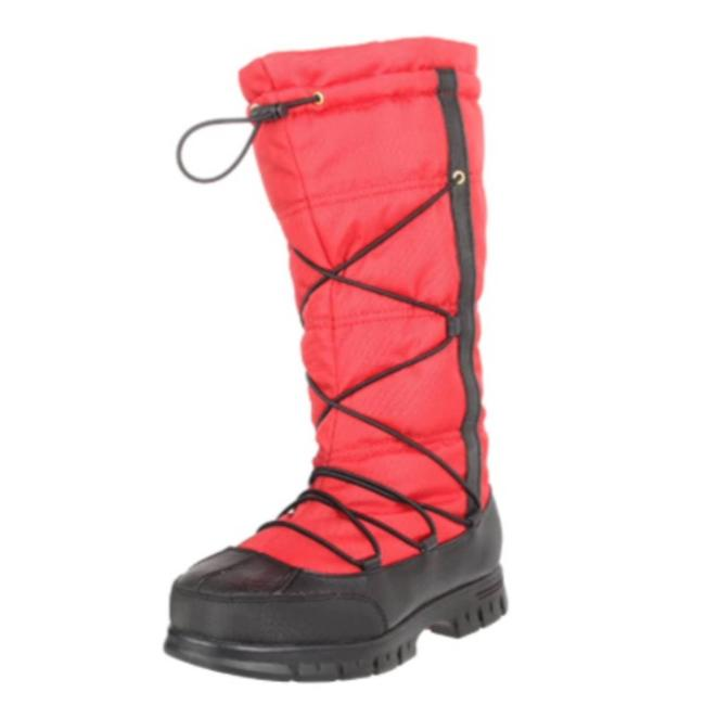 Item - Red Quinly Black Boots/Booties Size US 8.5 Regular (M, B)