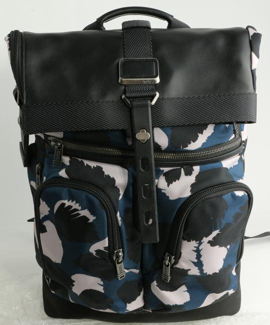 Item - Blue/White Backpack Camouflage Men's Jewelry/Accessory