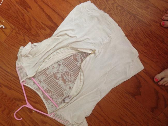 Forever 21 Top Off white