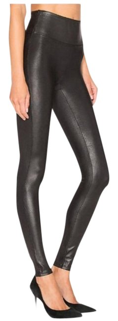 Item - Black Faux Leather High Waisted Leggings Size 0 (XS, 25)