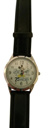 Preload https://item1.tradesy.com/images/disney-black-and-multi-mickey-mouse-75th-anniversary-edition-watch-2957230-0-0.jpg?width=440&height=440