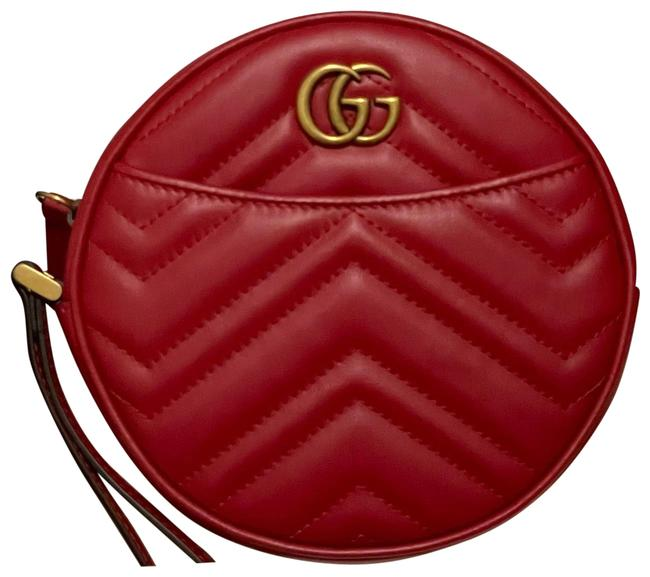 Item - Marmont Red Leather Wristlet