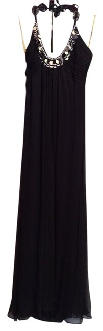 Preload https://item5.tradesy.com/images/catherine-malandrino-black-with-white-detail-summer-maxi-long-night-out-dress-size-2-xs-2957329-0-0.jpg?width=400&height=650