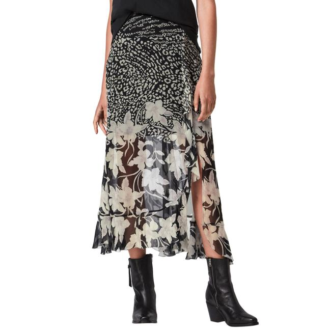 Item - Black Mena Tempo Women's Floral In Nwot Skirt Size 0 (XS, 25)