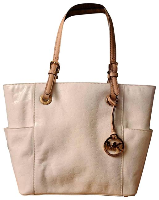 Item - Patent Leather White Tote