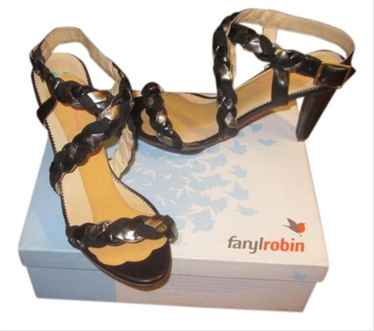 Farylrobin Black Sandals