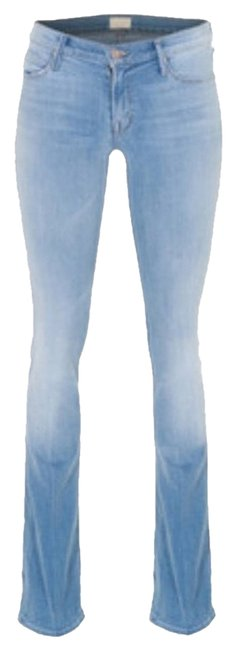 Mother Boot Cut Jeans-Light Wash