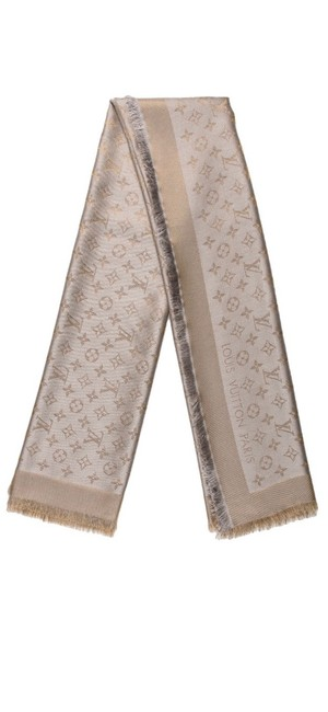 Item - Silver and Gold Monogram Scarf/Wrap