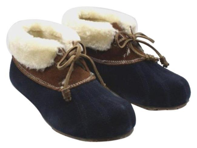 Item - Blue Emory Slippers Women's Boots/Booties Size US 7 Regular (M, B)