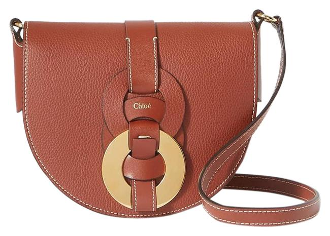 Item - Shoulder Darryl Small Textured-leather Brown Cross Body Bag