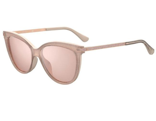 Item - Nude Axelle/G/S-0fwm 2s / Pink Flash Silver Sunglasses