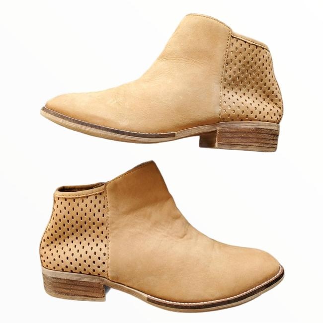 Item - Brown Beverly Tan Nubuck Leather Ankle Boots/Booties Size US 9 Regular (M, B)