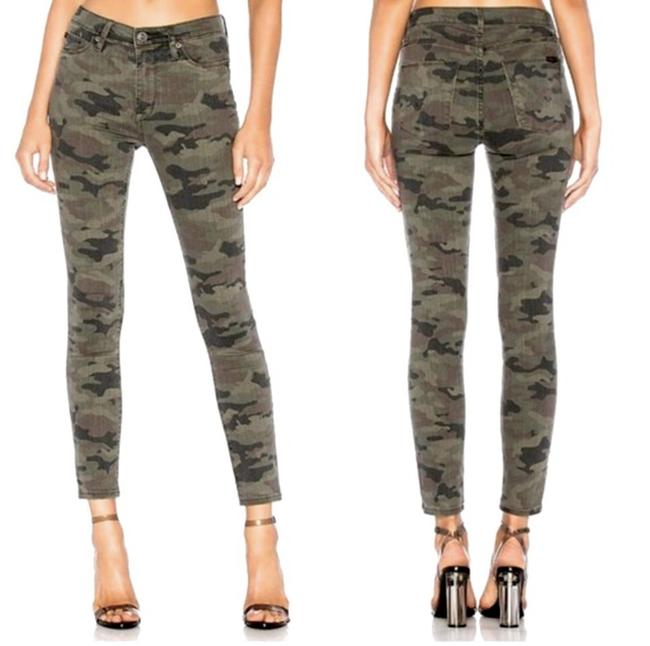 Item - Camouflage Distressed Barbara High Rise Ankle Skinny Jeans Size 26 (2, XS)