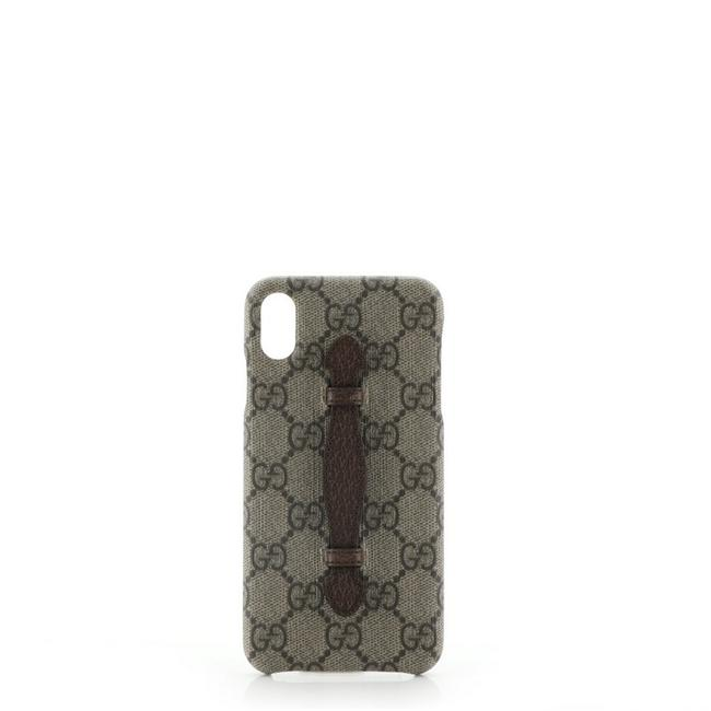 Item - Brown XS Phone Case Gg Coated Canvas Iphone X/Xs Tech Accessory